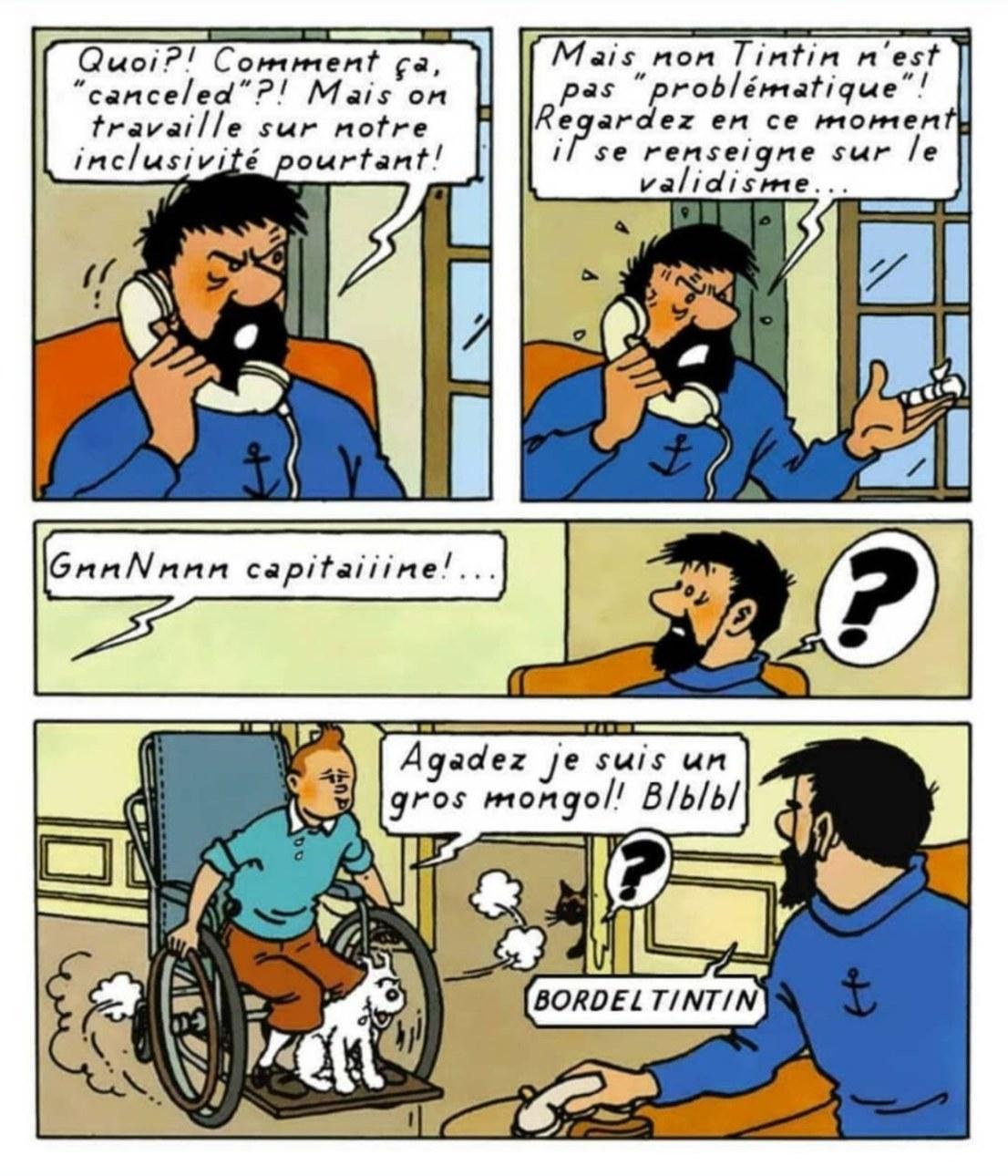 Tintin toxique - meme