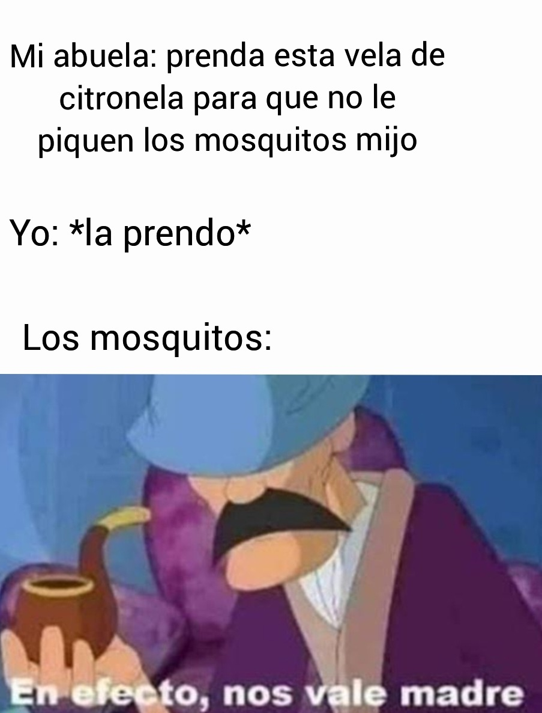 Mosquitos - meme