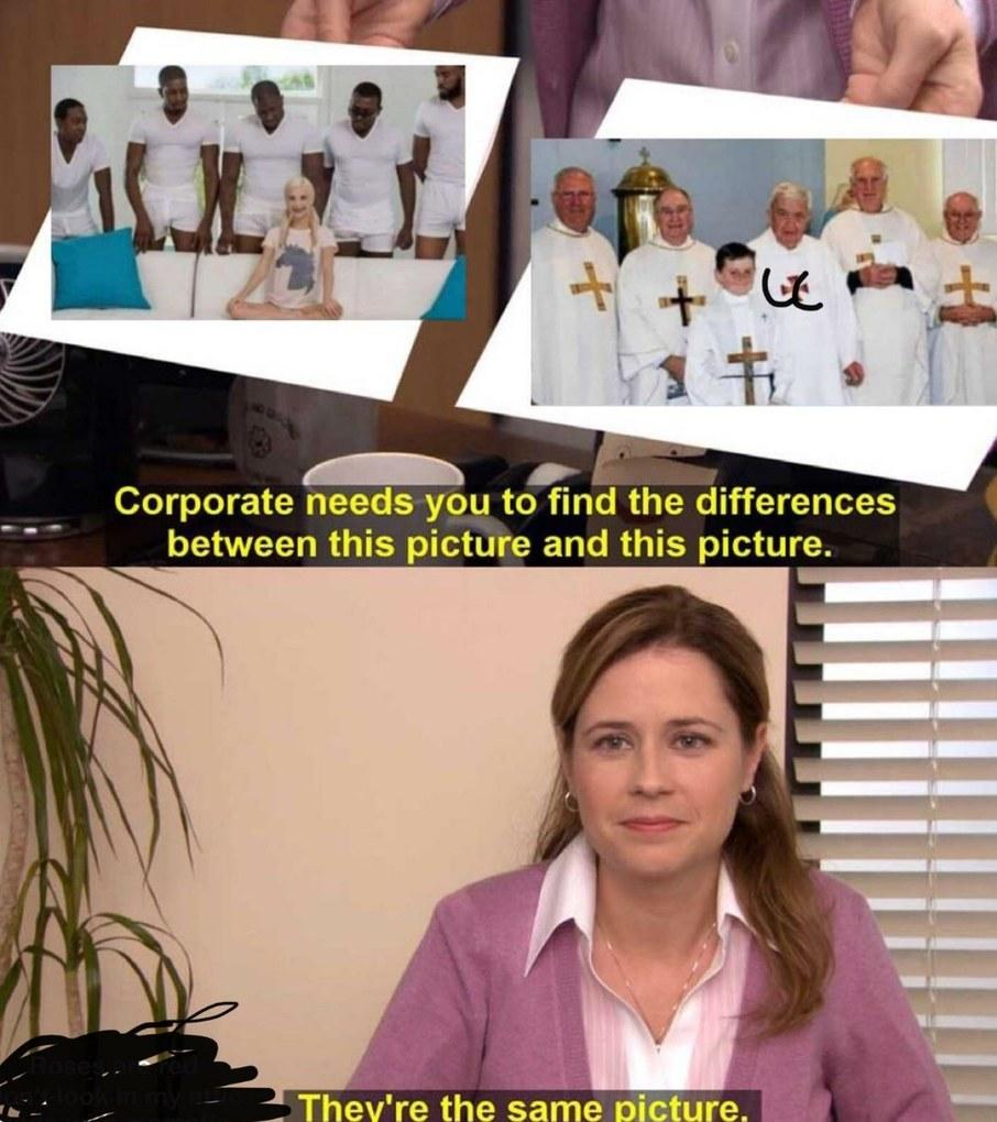Imagine being Christian - meme