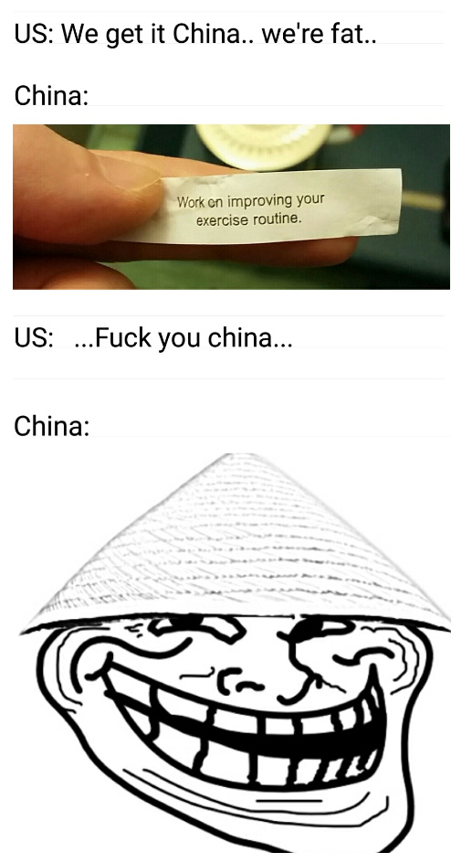 Trolling Americans - meme