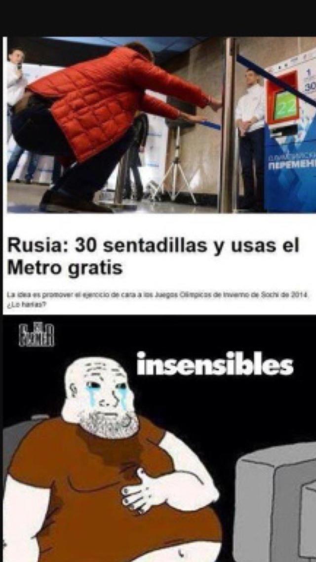 insensibles :'v - meme