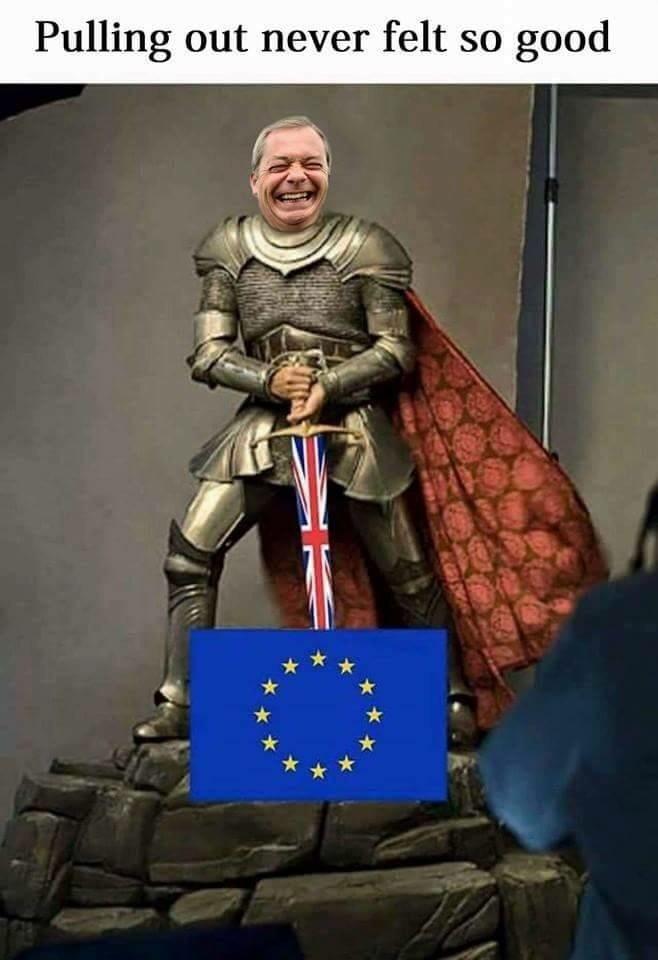 k bye, EU - meme