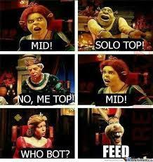 Mid or feed :V - meme