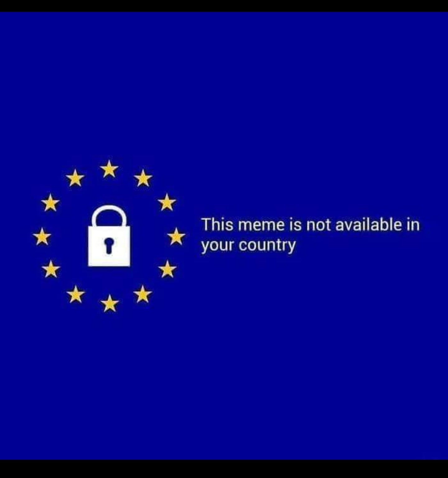 Article 13 has been approved... - meme