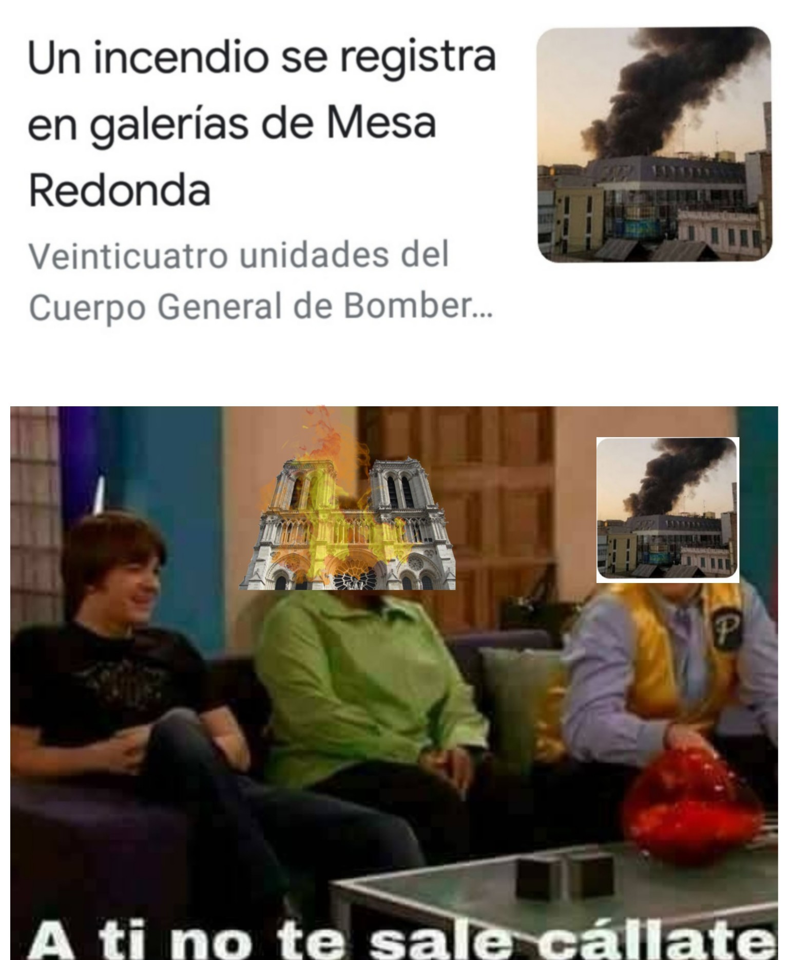 Cuasimodo peruano... - meme