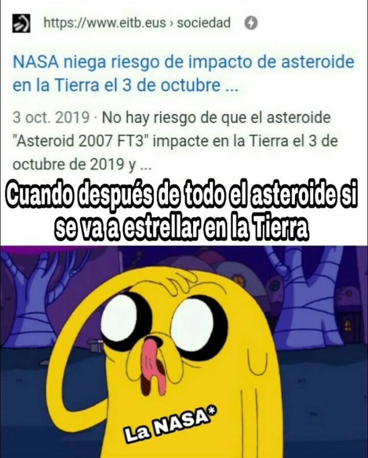 La NASA: Smithers creo que la cagamos.jpg - meme