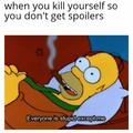 Stop spoilers