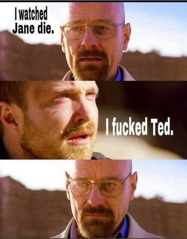 Who hasn't fucked Ted? - meme