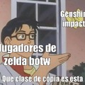 Zelda es mejor que genshin impact