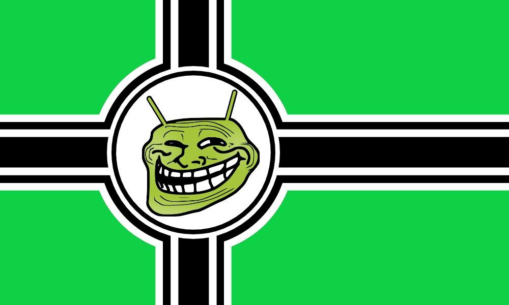 la bandera de memedroid