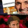 Per chi non capisse il meme; Totti ha detto in un intervista che voleva rispetto, così Spalletti non aveva convocato Totti nella partita contro il Palermo :/ cito essi