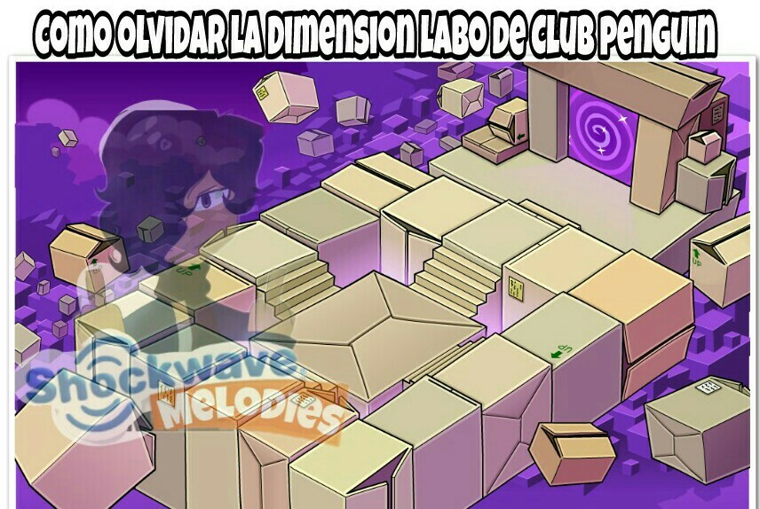 Club penguin hasta tenia una dimension - meme