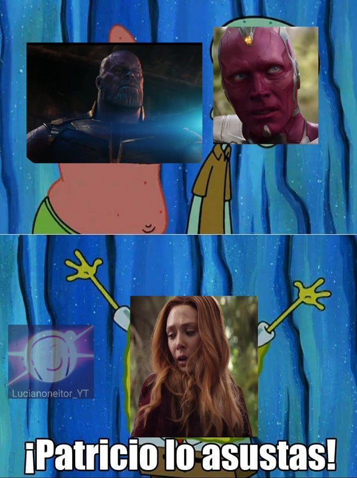 Pobre Wanda y Vision - meme
