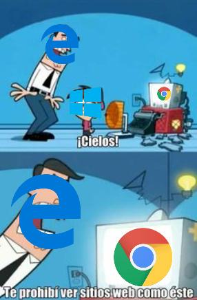 microsoft vs google - meme