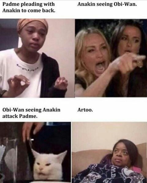 Star wars is life, star wars is love - meme