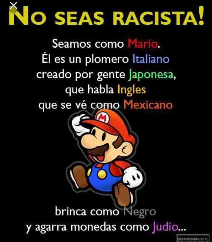 No al rasismo - meme
