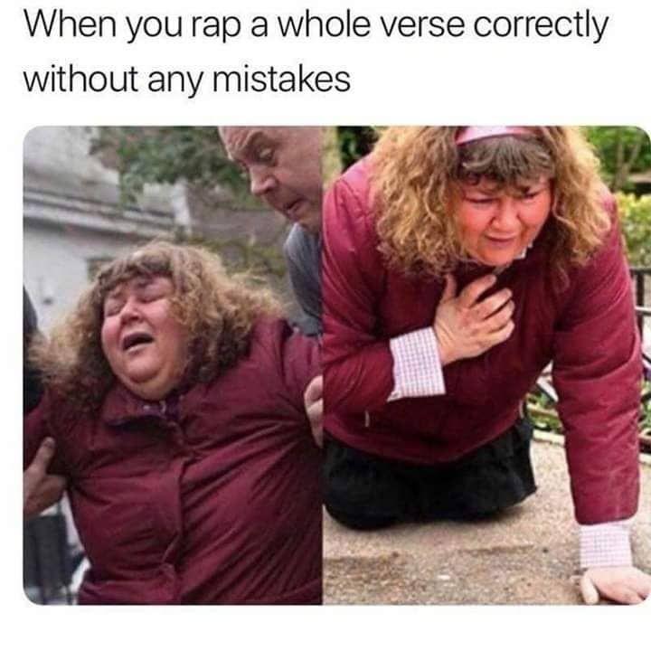 Rap them verse - meme