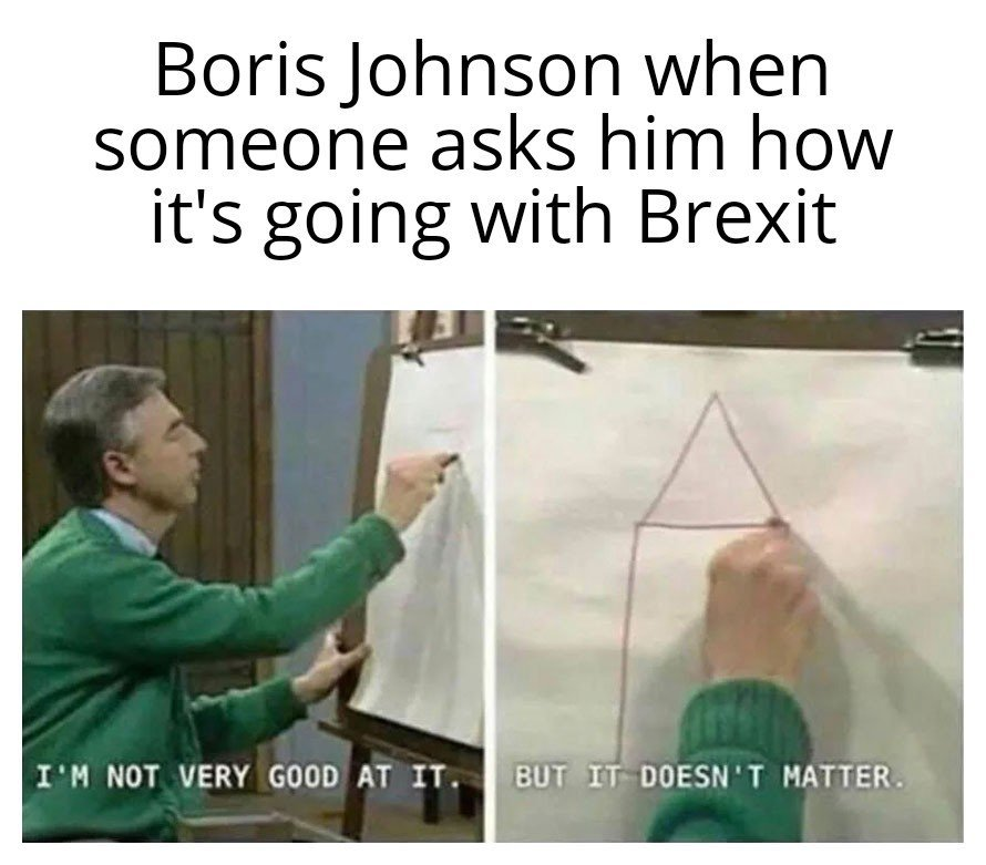 it kinda matters Boris - meme