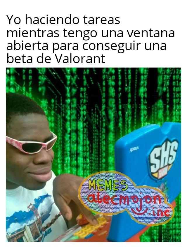 Jugaré Valorant, pero nunca abandonaré Apex Legends - meme