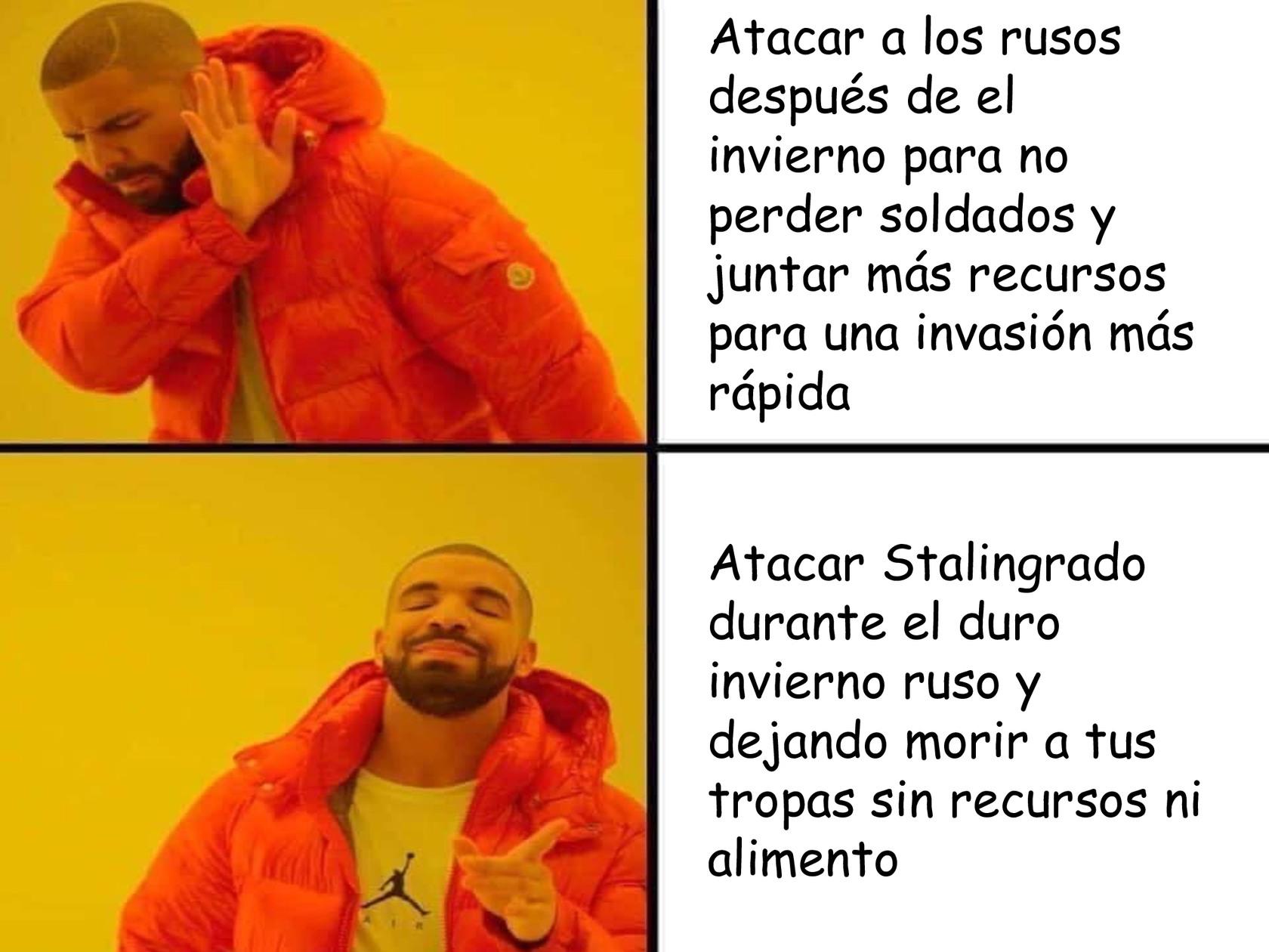 Operación Barbarossa - meme