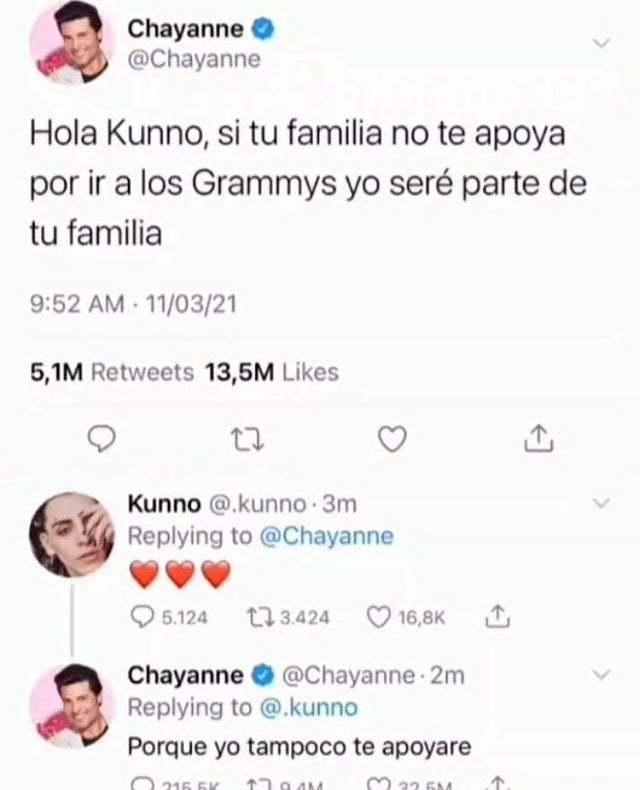 troleador chayanne - meme