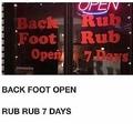 rub rub...