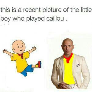Old Caillou - meme