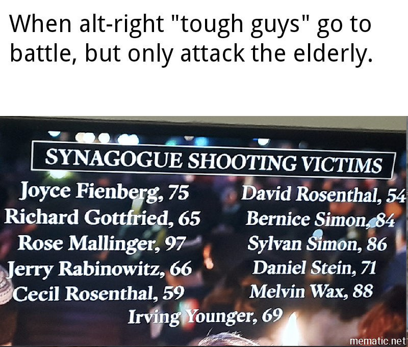 Such tough guys, lol. - meme
