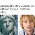 Just realized the Mona Lisa looks just like Donald Trump Jr