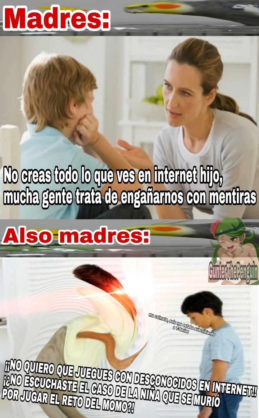 Madres be like - meme