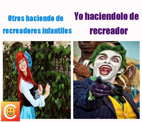 El Recreador - meme