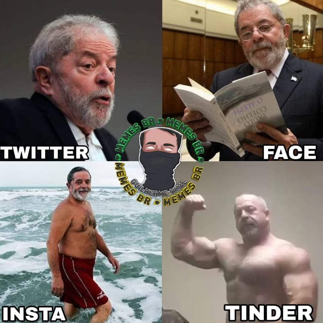 Lula bombado fodaskjkkk - meme