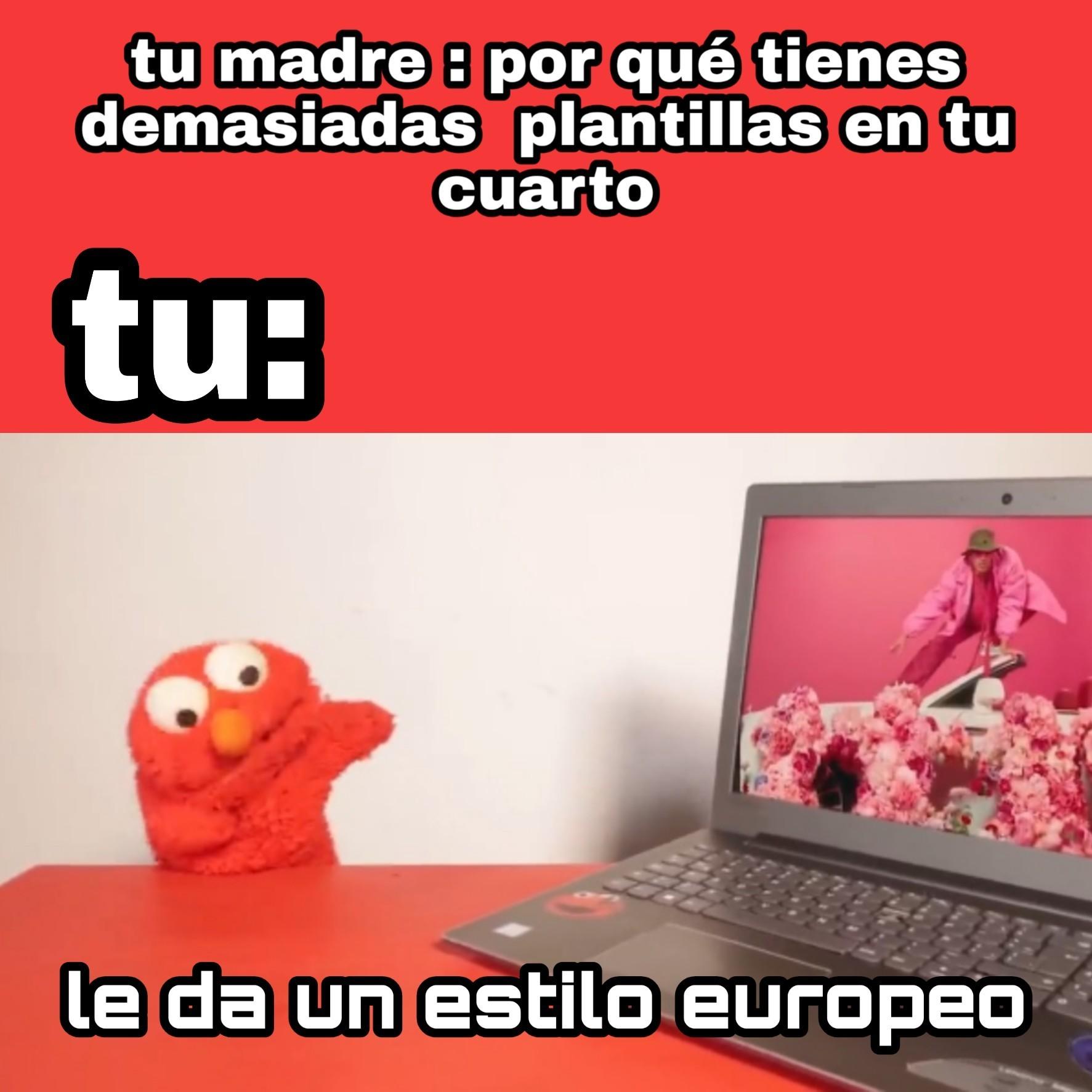 Rojo - meme