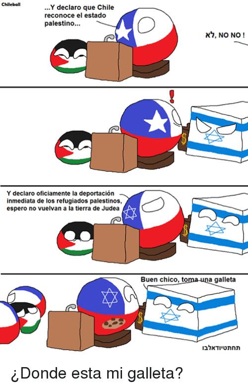 Muerte a chile e Israel - meme
