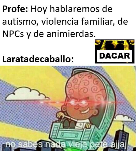 la @laratadecaballo es un usuario por si me preguntan. - meme