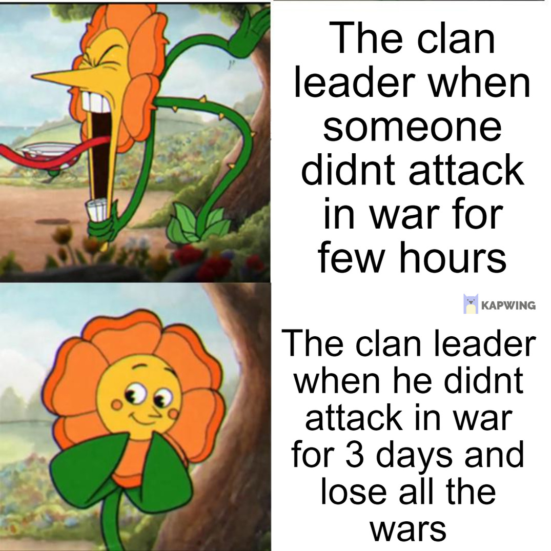 Clash of Clan meme