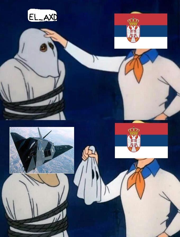 Contexto: Pastelero que derribo un avion furtivo en yugoslavia el 30 de abril de 1999 - meme