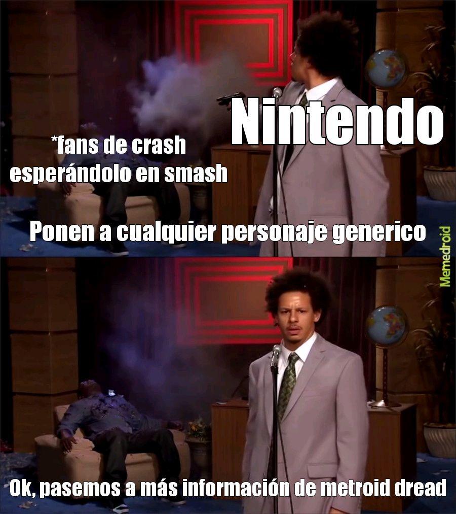 Por favor acéptenlo antes del Nintendo direct - meme