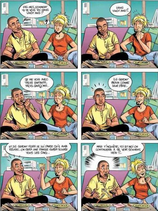 Scènes de ménages : prévisions par JIF & MILLER. - meme