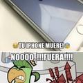el iphone muere