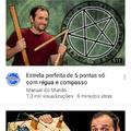 Como fazer estrela pra ritual satânico