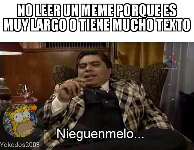 Niegenmelo... - meme