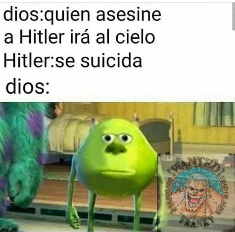 Hitler hackeo el sielo - meme