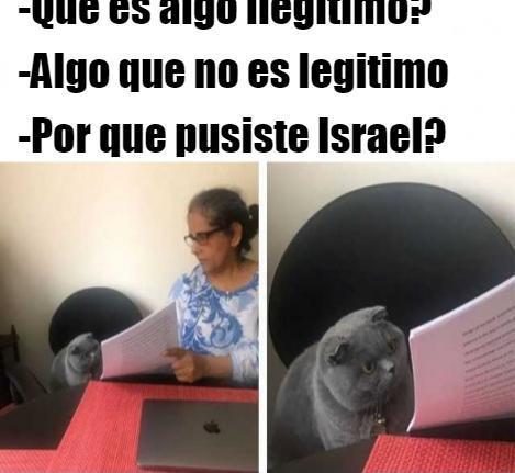 Israel es Israel - meme