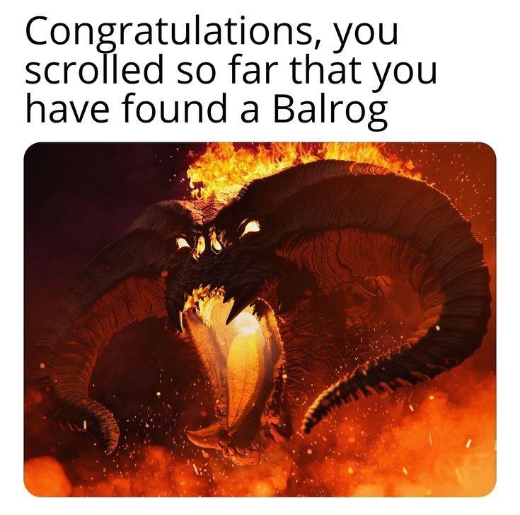 Balrog - meme