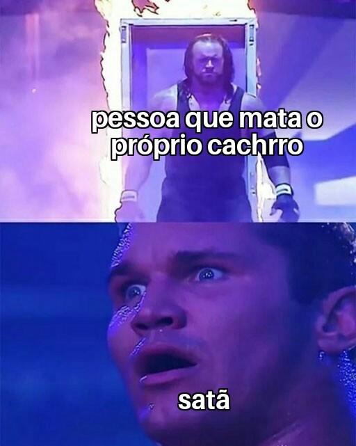 Demônio - meme