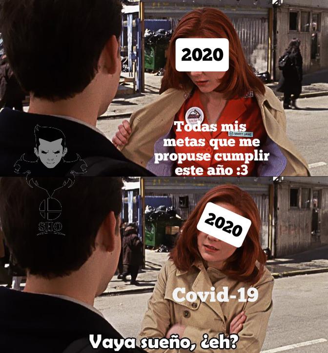 Bueno al menos este año tenemos excusa xd - meme
