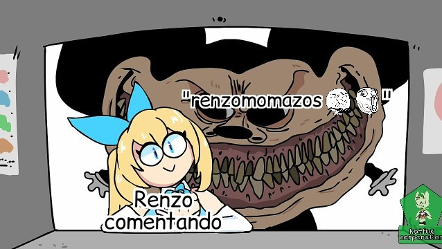 Pobre renzo( solo es una plantilla renzo no es trapo) - meme