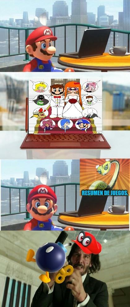 Vamos Mario - meme