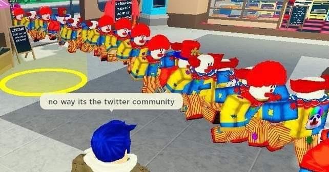 """""""Nem ferrando é a comunidade do Twitter"""" - meme"""